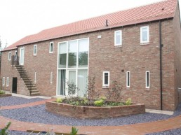 New Build offices in Barn Consersion Style and external landscaping