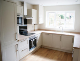 Typical Kitchen fitted into Show Home of Foss Court Development